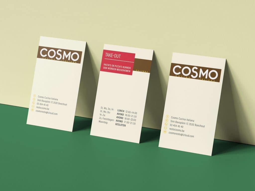 Cosmo naamkaartjes