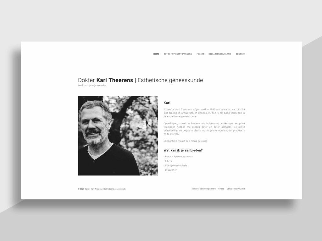 Dokter Theerens - website