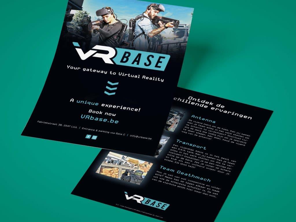 VR Base flyer