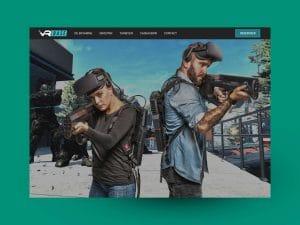 VR Base website