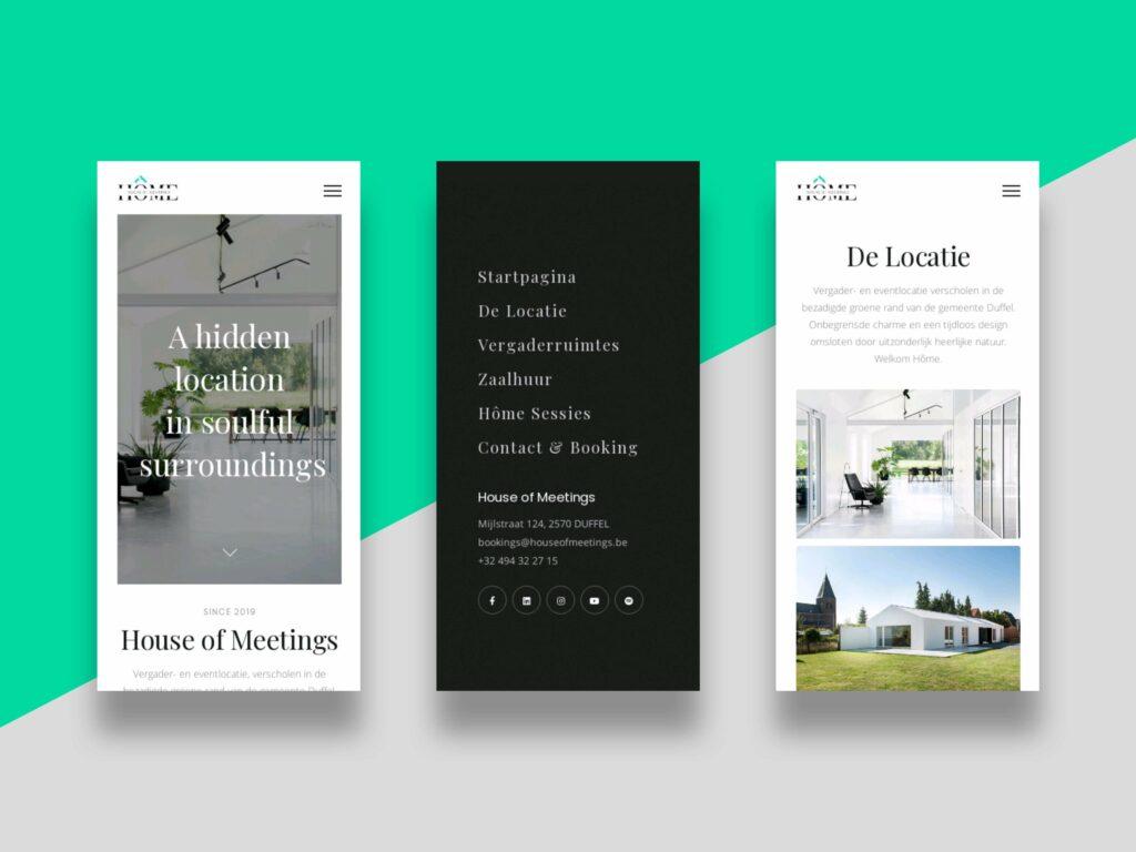 stijlvolle en sterke Google website laten maken? - House of Meetings