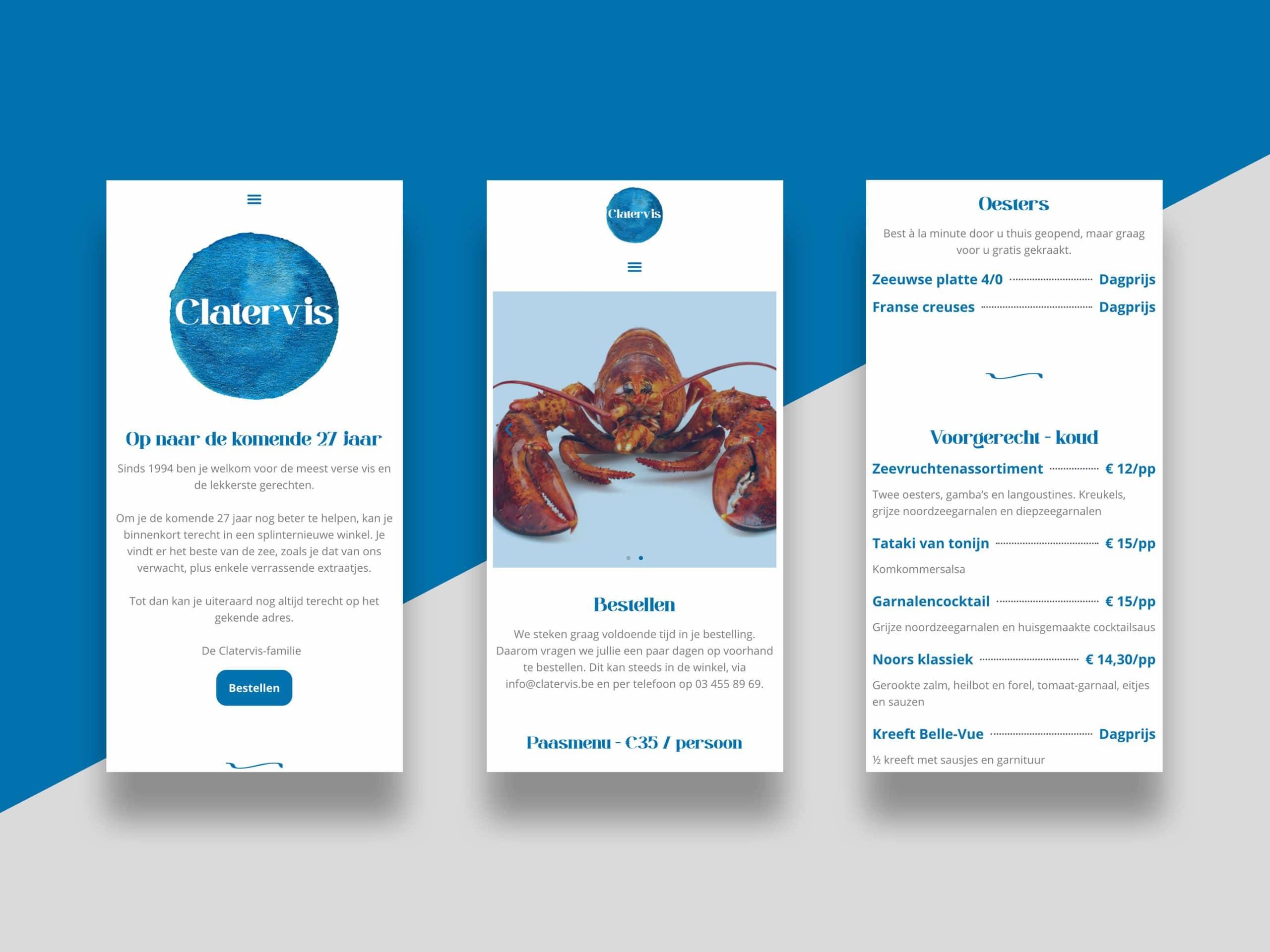 Clatervis - website